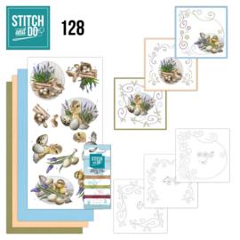 Stitch and Do 128 - Amy Design - Botanical Spring STDO128