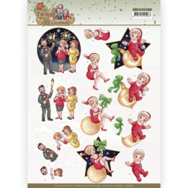 3D Cutting Sheet - Yvonne Creations - The Heart of Christmas - Fireworks CD11731