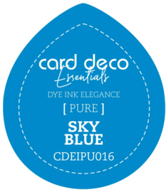 Card Deco Essentials Fade-Resistant Dye Ink Sky Blue CDEIPU016