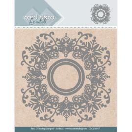 Card Deco Essentials Aperture Dies - Snowflake Round CDCD10057