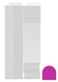 Hobby dots sticker mirror pink 001 STDM01F STDM01F