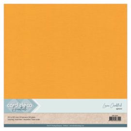 Linen Cardstock - SC - Apricot LKK-SC65