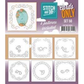 Cards only Stitch 50 - 4k COSTDO10050