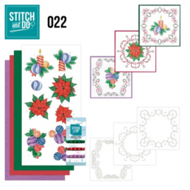 Stitch and Do 22 - christmas STDO022