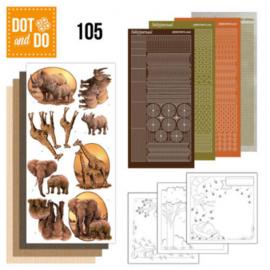 Dot and Do 105 - Wild Animals DODO105