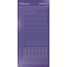 Hobby dots sticker Mirror Purple 017 STDM179