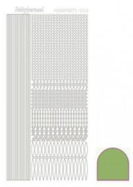 Hobbydots sticker Mirror Lime 003 STDM03C