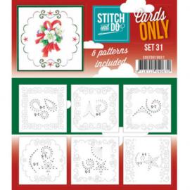 Stitch & Do - Cards only - 4k - Set 31 COSTDO10031