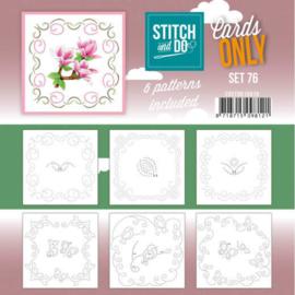 Stitch and Do - Cards Only Stitch 4K - 76 COSTDO10076