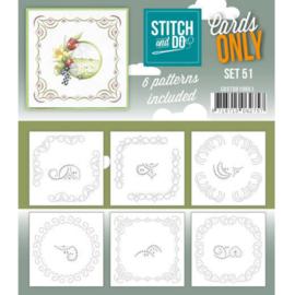 Cards only Stitch 51 - 4k -  COSTDO10051