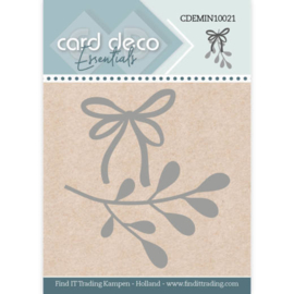 Card Deco Essentials - Mini Dies - Mistletoe CDEMIN10021