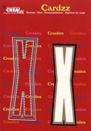 Crealies Cardzz letters letter X CLCZ424 max. 13 cm