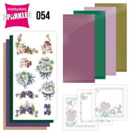 Sparkles Set 54 -  Precious Marieke - Violets - SPDO054