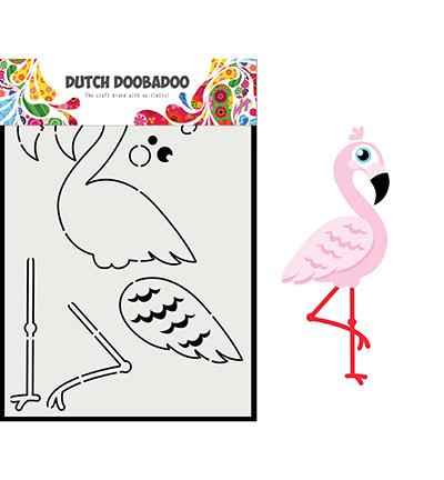 Ddbd 470.713.880 - Card Art Built up flamingo