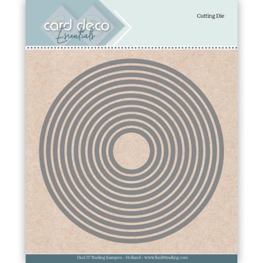 CDECD0001 Card Deco Essentials Cutting Die GET WELL SOON