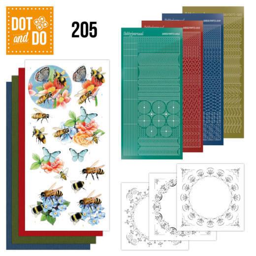 Dot and Do 205 -  Jeanine's Art - Humming Bees  DODO205