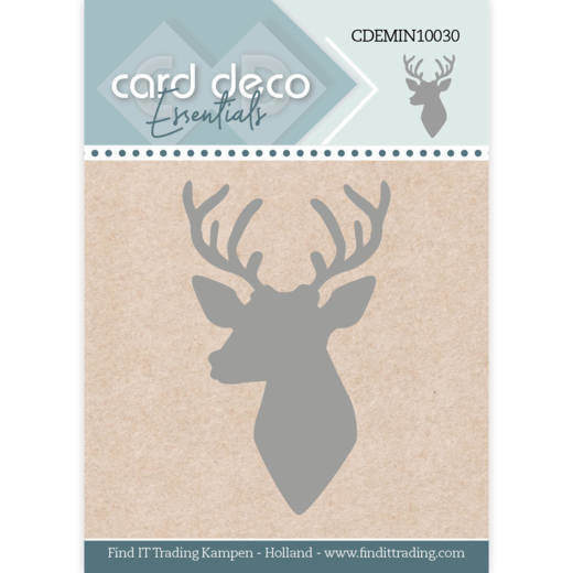 Card Deco Essentials - Mini Dies - Deer Silhouette CDEMIN10030