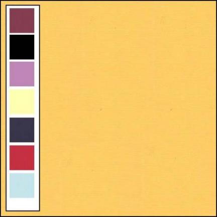 LinnenArt kaartkarton 30,5 x 30,5 oker 5 LKK-SC05