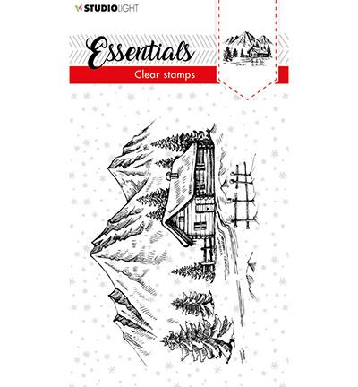 SL-ES-STAMP89 - SL Clear stamp Christmas Senery Essentials nr.89
