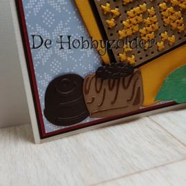 Warme chocolademelk met slagroom