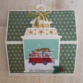 Easelkaart kerstboom versieren