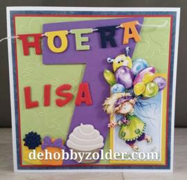 Hoera Lisa 7 jaar