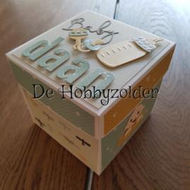 Explosiebox carrousel geboorte Daan