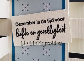 December is de tijd