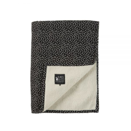 MIES & CO DEKEN BIG COZY DOTS BLACK LEDIKANT
