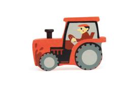 TENDER LEAF TOYS | Houten boerderij tractor