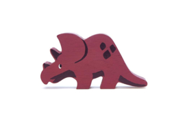 TENDER LEAF TOYS | Houten dinosaurusdier Triceratops