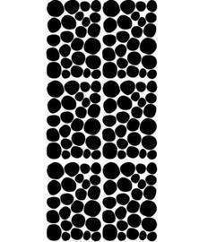 POM LE BONHOMME | Muurstickers Dot zwart