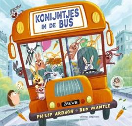 KINDERBOEK | Konijntjes in de bus (leeftijd 2+)