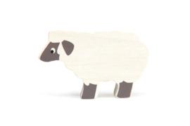 TENDER LEAF TOYS | Houten boerderijdier schaap