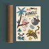 MICHELLE CARLSLUND | Poster Jungle animals