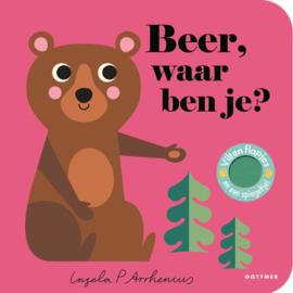 KINDERBOEK | Beer waar ben je? (leeftijd 2+)