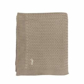 MIES & CO BABYLIFESTYLE | Ledikant deken 110 x 140 - gebreid beige