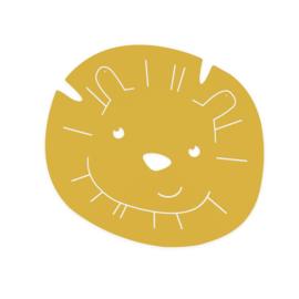 ATELIER PIERRE JUNIOR | Magneetbord Hakuna Leeuw - Mustard geel