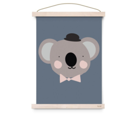 EEF LILLEMOR | Poster Lovely Animals Sir Koala