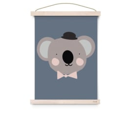 EEF LILLEMOR POSTER LOVELY ANIMALS - SIR KOALA