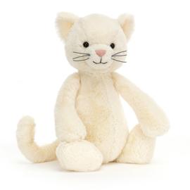 JELLYCAT | Knuffel Bashful cream kitten - poes