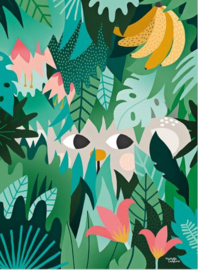MICHELLE CARLSLUND POSTER HIDE & SEEK