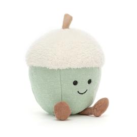 JELLYCAT   Knuffel Amuseable Glisten acorn - eikeltje