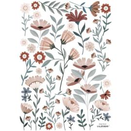 LILIPINSO | Muursticker bloemen