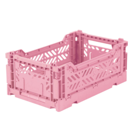 AYKASA FOLDING CRATE | Mini box Baby Pink