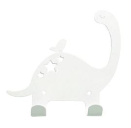 EINA DESIGN | Wandhaakje dinosaurus wit