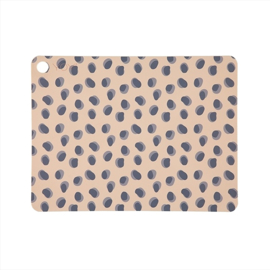 OYOY MINI | Placemat Luipaard print 'leopard dots'