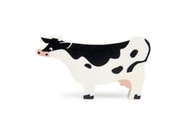 TENDER LEAF TOYS | Houten boerderijdier koe