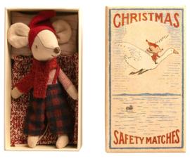 MAILEG | Grote broer muis kerstmis in luciferdoosje