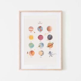 MUSHIE | Poster Space 50x70 cm